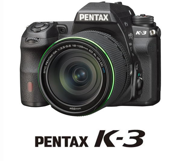 Kマウントデジタル一眼レフカメラ最上位機種「PENTAX K-3」