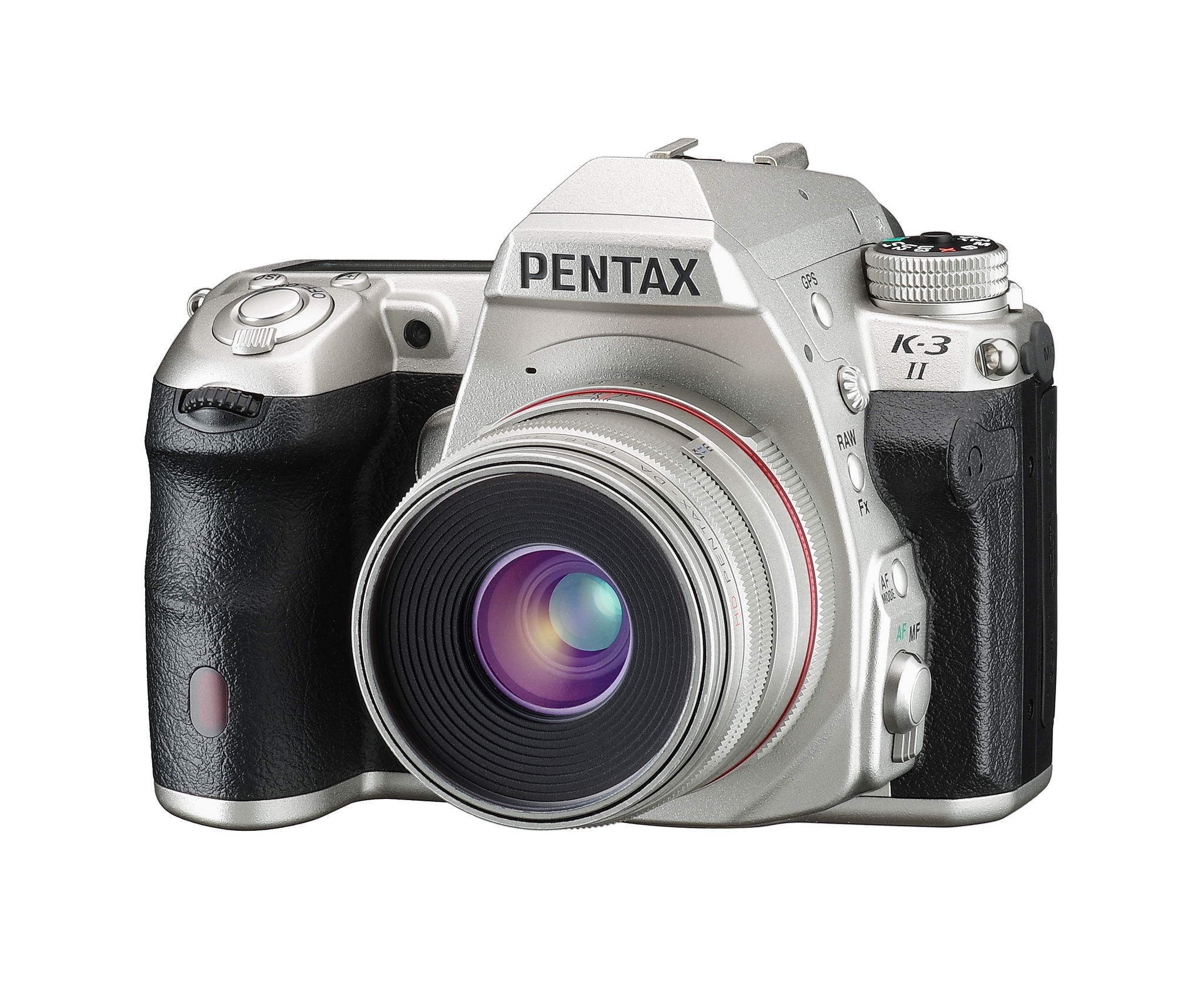 PENTAX K-3 II Silver Edition 限量500台